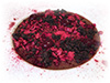 Chocolate and dehydratated berries