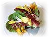 Cesar's salad in bloom