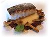 Mediterranean snapper fillet, sour butter, chanterelles, chocolate soil, thyme gel